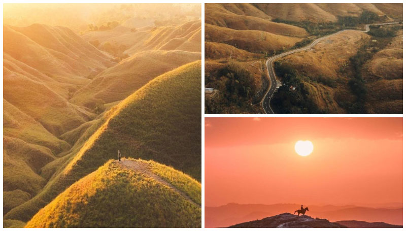 Bukit Wairinding, Landscape Perbukitan Eksotis Bagai Negeri Dongeng di Sumba Timur!