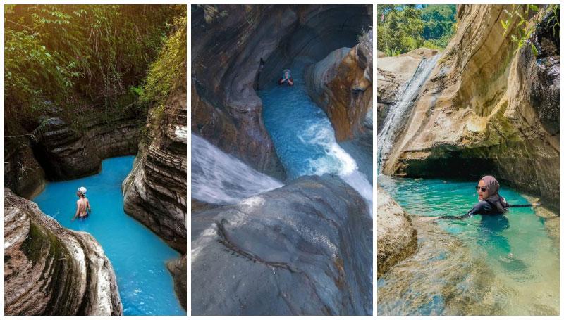 Curug Love, Wisata Air Terjun yang Hits dan Viral di Bogor Karena Mirip Green Canyon! Super Menawan!