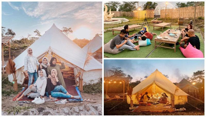 Indekostour Glamping, Spot Glamour Camping Murah di Jogja – Per Malamnya Mulai dari 150K aja!