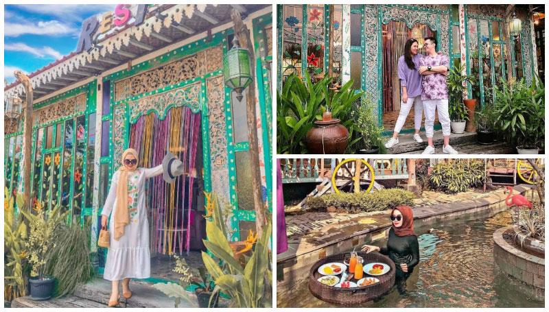 La Luna Resort, Akomodasi Penginapan Ala Eropa Klasik Unik dan Instagramable di Jogja!