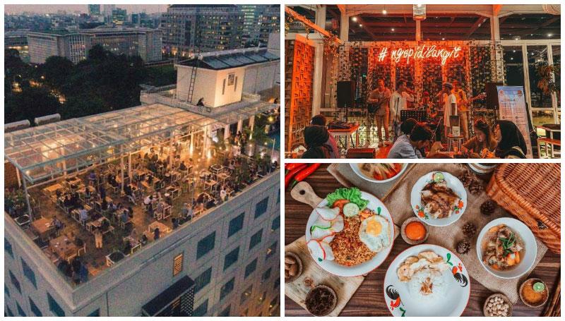 Langit Seduh Coffee, Merasakan Sensasi Nongkrong di Gedung Pencakar Langit Jakarta – Unforgetable Banget!