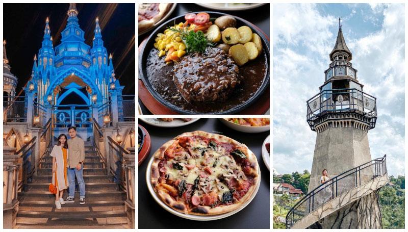 Mercusuar Cafe and Resto, Merasakan Sensasi Makan di Kastil Negeri Dongeng – Bandung Punya, nih!