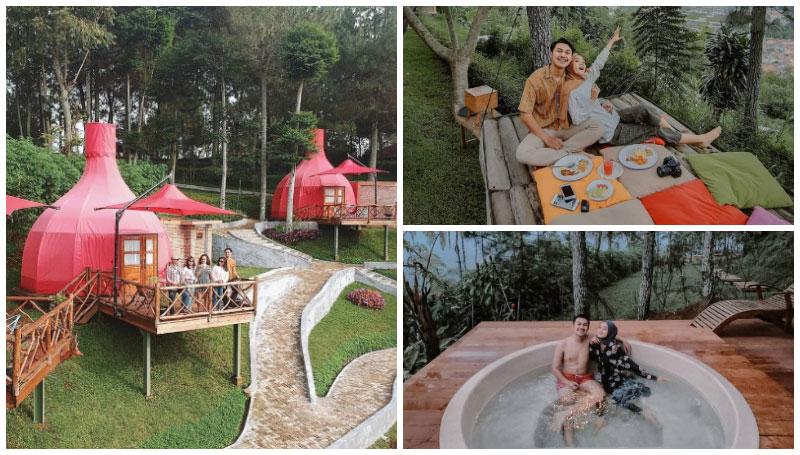 Mulberry Hill, Akomodasi Penginapan Cantik dengan Pemandangan Ciamik di Bandung – Bentuk Unik Mirip Bawang!