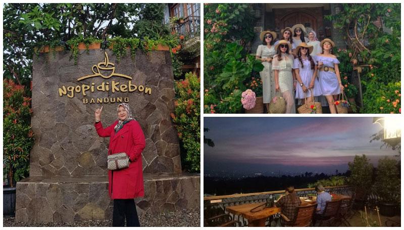 Ngopi di Kebon Bandung, Tempat Ngopi dan Nongkrong dengan Banyak Spot Foto Ala Desa Eropa!