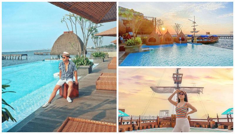 Nyiur Resto, Resto Tepi Pantai yang Punya Vibe Ala Bali di Jakarta – Ada Fasilitas Kolam Renang Outdoor loh!
