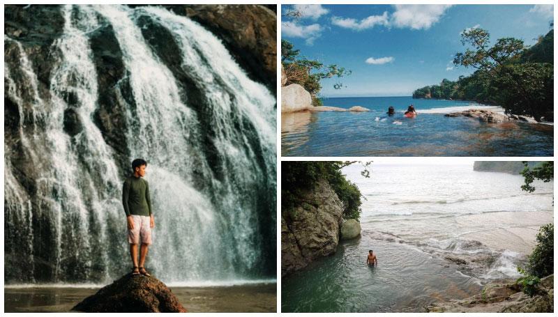 Pantai Banyu Anjlok, Pantai Terunik di Malang – Ada Air Terjun yang Langsung Ngalir ke Pantai, Loh!