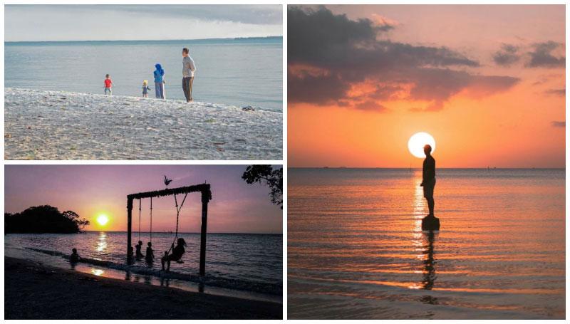 Pantai Tanjung Pendam, Spot Terbaik Hunting Panorama Senja di Belitung! Suasananya Romantis Abis!