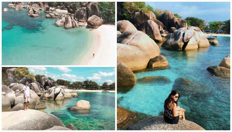 Pantai Tanjung Tinggi, Mengintip Pesona Batu Raksasa Tepi Pantai Eksotis Tempat Syuting Film Laskar Pelangi!