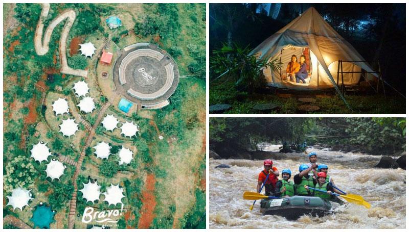 Bravo Adventure, Spot Glamping Asik di Sukabumi yang Punya Kegiatan Rafting Menantang – Berani Coba?