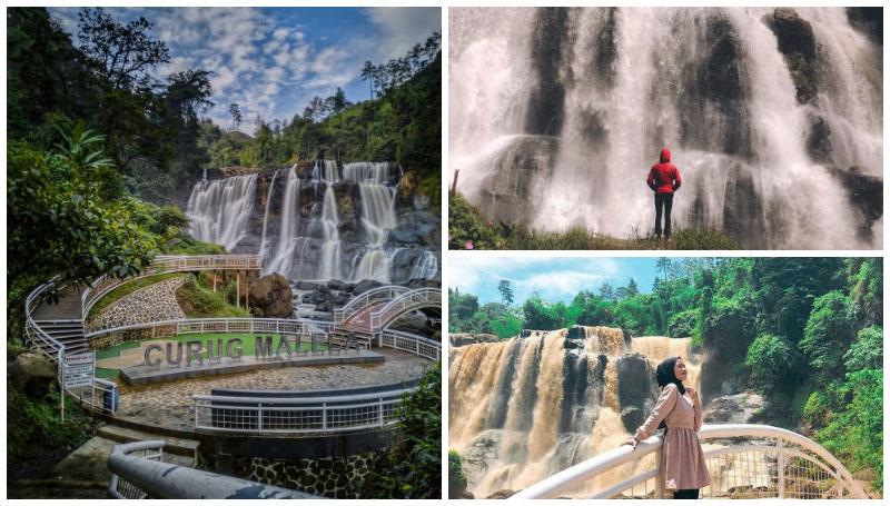Curug Malela, Miniatur Air Terjun Niagara Ditengah Hutan Bandung – Keindahannya Sungguh Mempesona!
