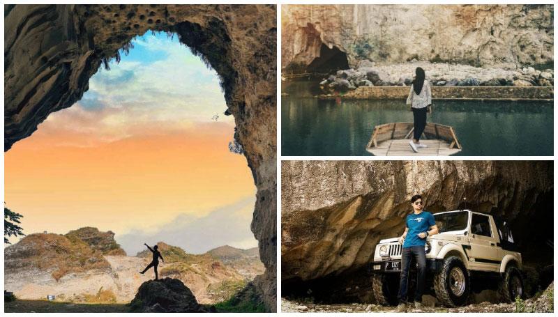 Gunung Kapur Klapanunggal, Objek Wisata Hits dengan Tebing Kapur dan Kubangan Air Berwarna Biru yang Super Keren! Lokasinya di Bogor nih!