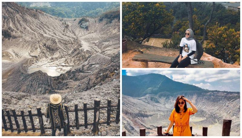 Gunung Tangkuban Perahu, Objek Wisata Alam yang Wajib Dikunjungi Saat Berlibur di Bandung!