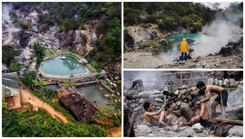 Kawah Rengganis, Kolam Renang Air Hangat Alami di Ciwidey yang Cocok Buat Relaksasi Saat Liburan!