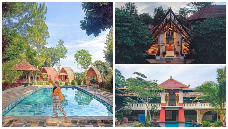The Village Resort, Akomodasi Unik di Bogor yang Punya Bentuk Seperti Lumbung Padi!